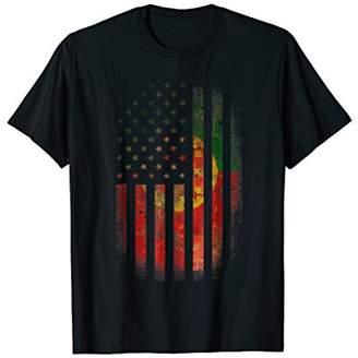 Portugal USA Shirt Portugal America Flag Men Women Kids tee
