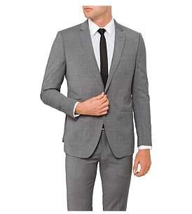 Uber Stone Wool/Pol/Elast Plain Jacket
