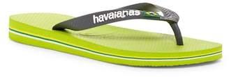 Havaianas Brazil Logo Flip Flop (Unisex)