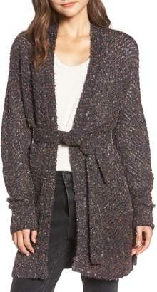 Hinge Marled Long Cardigan