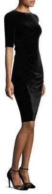 L.K. Bennett Kara Stretch Velvet Dress