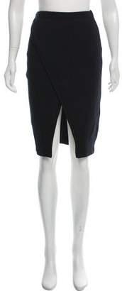 Ji Oh Wool Knee-Length Skirt