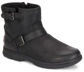 UGGDawn UGGPure-Lined Leather & Suede Ankle Boots