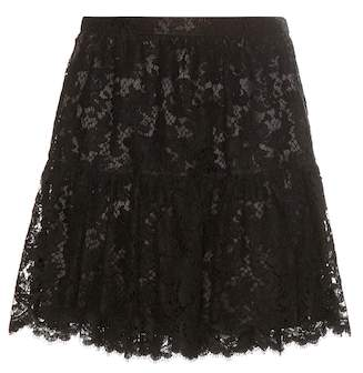 Saint Laurent Lace skirt