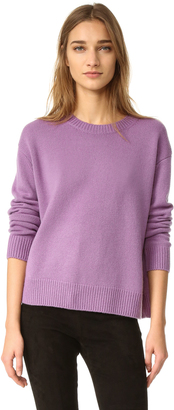 Vince Boxy Cashmere Sweater $345 thestylecure.com