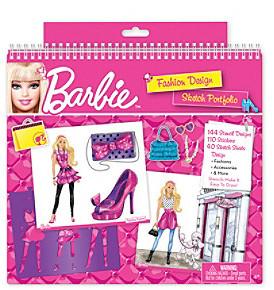 Fashion Angels Barbie® Fashion Design Sketch Portfolio