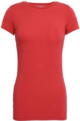 Majestic Filatures Melange Stretch-jersey T-shirt