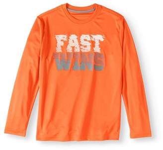 Athletic Works Boys' Long Sleeve Graphic Tee
