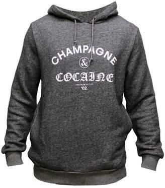 Crooks & Castles Crooks and Castles Champagne & Cocaine Pullover Hoodie Speckle Navy