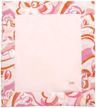 Emilio Pucci Printed Cotton Jersey Blanket