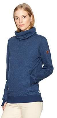 DC Women's Veneer High Neck Pullover Sweatshirt