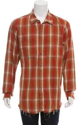 Amiri Shotgun Plaid Shirt