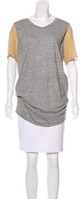 3.1 Phillip Lim Short Sleeve Knit Top