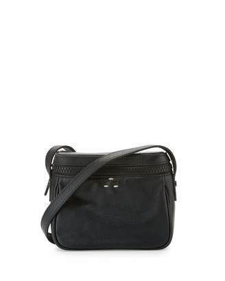 Kelsi Dagger Ainslie Leather Camera Crossbody Bag, Black $70 thestylecure.com