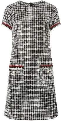 Dorothy Perkins Womens Multi-Coloured Boucle Shift Dress