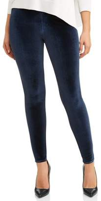 Time and Tru Women's Velour Jegging