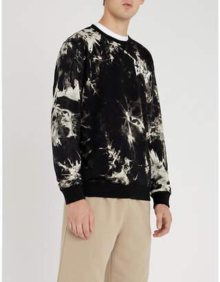 Lifes A Beach Tie-dye cotton-jersey sweatshirt