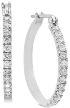 Effy Diamond Hoop Earrings (1/2 ct. t.w.) in 14k White Gold