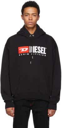 Diesel Black S-Division Hoodie
