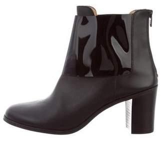MM6 MAISON MARGIELA MM6 by Maison Martin Margiela Leather Ankle Boots