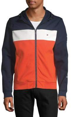 Tommy Hilfiger Striped Hoodie Track Jacket