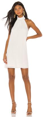Krisa Smocked Turtleneck Mini Dress