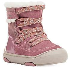 Geox Baby's & Little Girl's Jay J. Waterproof Faux Fur-Lined Suede Boots
