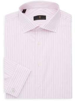 Ike Behar Regular-Fit Striped Dress Shirt