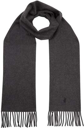 Polo Ralph Lauren Fringed Cashmere Scarf