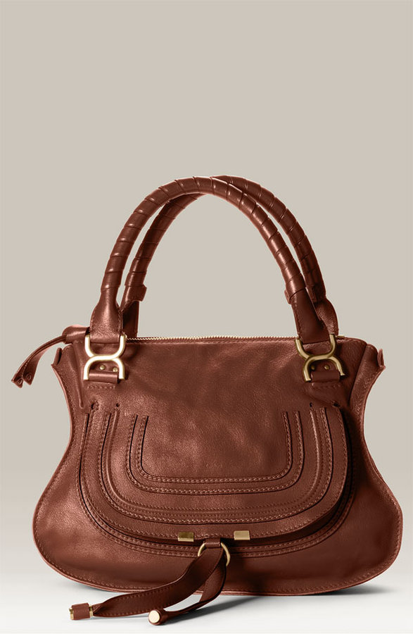 Chloé 'Marcie  Small' Leather Satchel