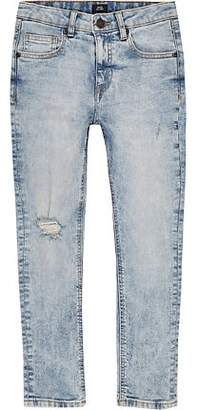 River Island Boys light blue Sid skinny jeans