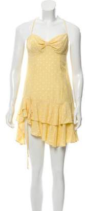 For Love & Lemons The Limoncello Tiered Ruffle Dress w/ Tags Yellow The Limoncello Tiered Ruffle Dress w/ Tags