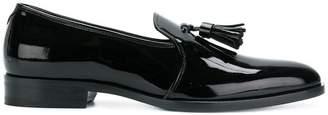 Saint Laurent varnished tassel loafers