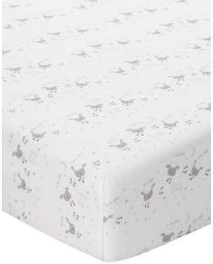 George Counting Sheep Cotbed Fitted Sheets