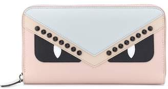Fendi Zip-around leather wallet
