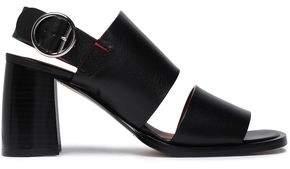 Joseph Stein Leather Slingback Sandals