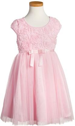 Popatu Ribbon Rosette Tulle Dress