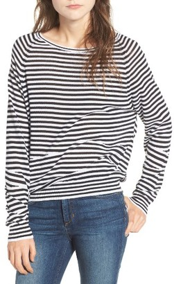 Women's Zadig & Voltaire Camille Stripe Sweater $228 thestylecure.com