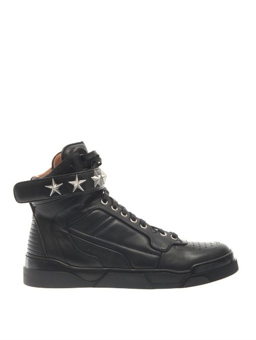 Givenchy Tyson leather high-top trainers