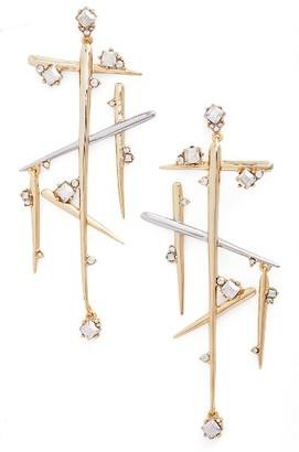 Women's Alexis Bittar Crystal Dangle Drop Earrings $275 thestylecure.com
