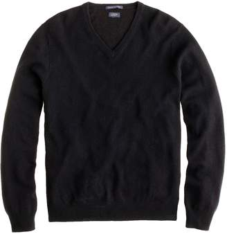 J.Crew Slim Italian cashmere V-neck sweater