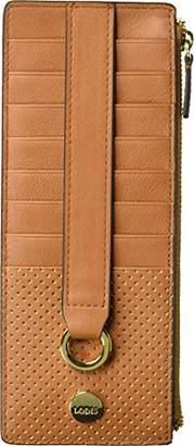 Lodis Sunset Boulevard Credit Card Case with Zipper Pocket