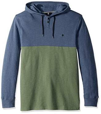 Volcom Men's Murphy Long Sleeve Hooded Thermal Shirt