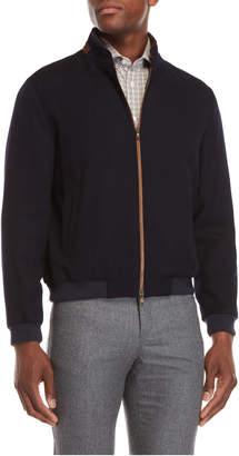 Luciano Barbera Wool Bomber Jacket