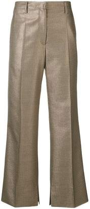 Golden Goose flared cropped trousers