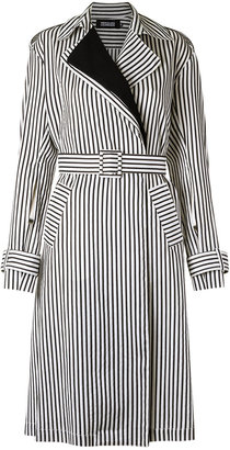 Reinaldo Lourenço striped trench coat