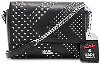 Karl Lagerfeld X KAIA Rocky Shoulder Bag