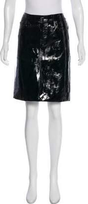 Tamara Mellon Leather Pencil Skirt w/ Tags