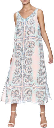 Tribal Layered Tank Dress