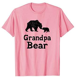 Mens Cute Grandpa Bear T-Shirt